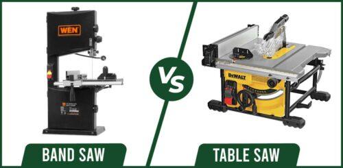 Band Saw vs Table Saw