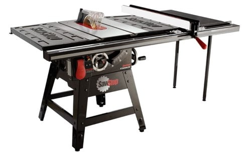SAWSTOP CNS175-TGP236 10-Inch Contractor Table Saw