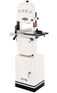 Shop Fox W1706 14 Bandsaw With Cast Iron