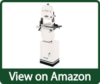 Shop Fox W1706 14 inch Bandsaw with Cast Iron Wheels & Deluxe Aluminum Fence