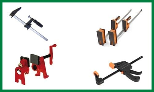 Different Types of Wood Clamps