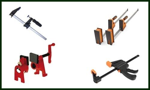 Different Types of Wood Clamps for Woodworking Project