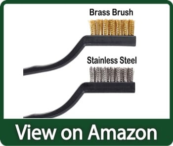 Topspeeder 10 pieces wire brush for cleaning welding slag and rust
