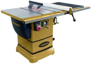 Powermatic PM1000 10 Table Saw with 30 Accu-Fence System