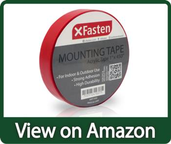 XFasten Double Sided Acrylic Mounting Tape