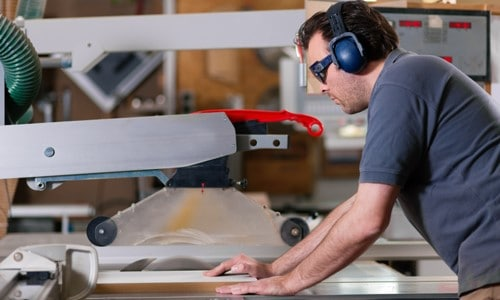 cabinet table saw for woodworking