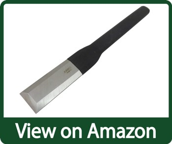 Arno 467856 Solid Steel French Timber Framing Slick Chisel