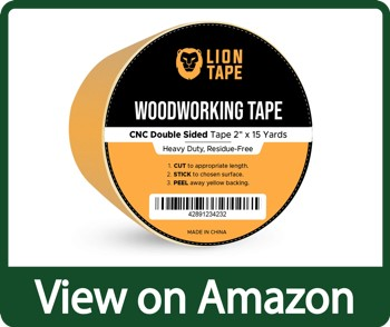 Lion Tape Double Sided Woodworking Tape