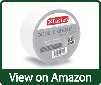 XFasten Clear & Removable Double-Sided Tape