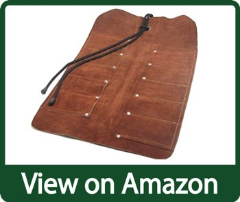 Uj Ramelson Durable Rollable Hanging Pocket Pouch for Chisels